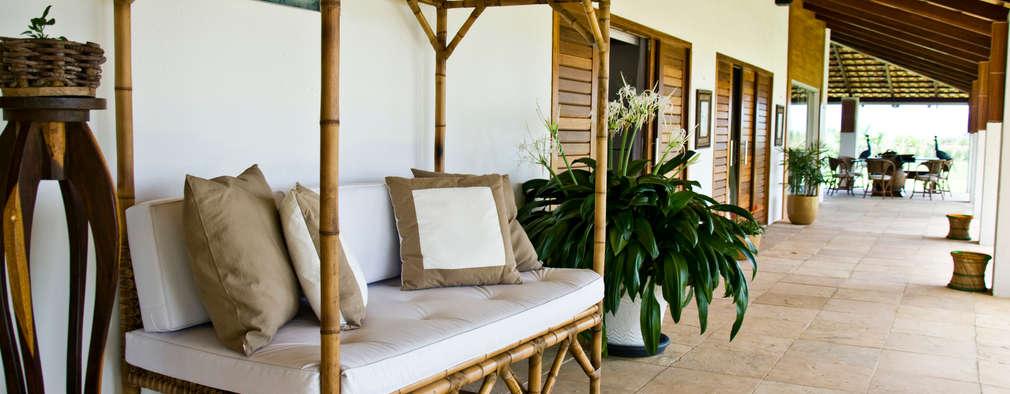 Terrace by Renato Teles Arquitetura