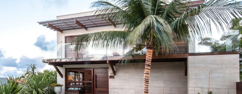 Casas de estilo topical por Renato Teles Arquitetura