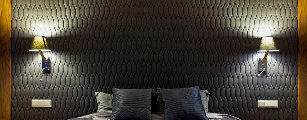 غرفة نوم تنفيذ tomasz czajkowski pracownia