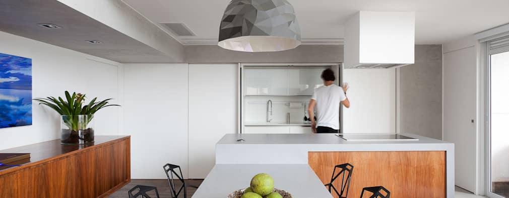 open plan kitchen images. minimalistic kitchen by meireles pavan arquitetura open plan images