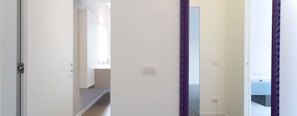 Corridor & hallway by ristrutturami