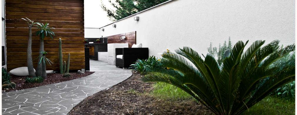 Casas de estilo moderno por Ignazio Buscio Architetto
