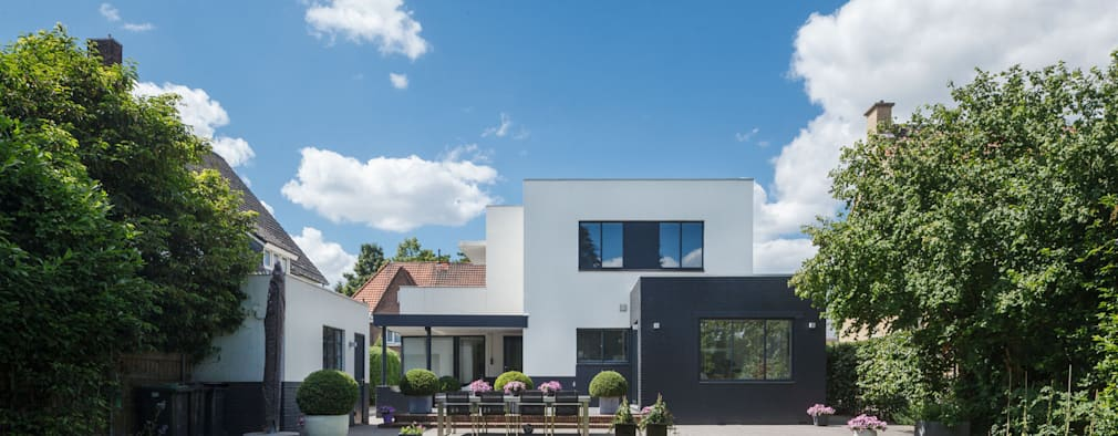 Restauratie Woonhuis Hoensbroek:   door Architectenbureau beckers