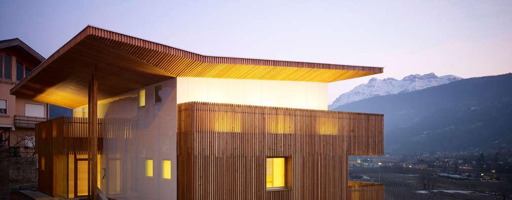 Il meglio delle nostre case moderne in 10 progetti for Entrate case moderne