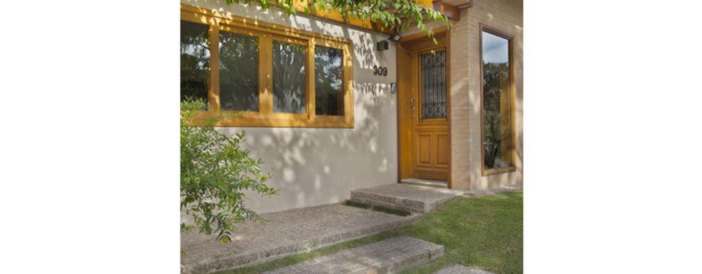 Cria Arquitetura: rustik tarz tarz Evler