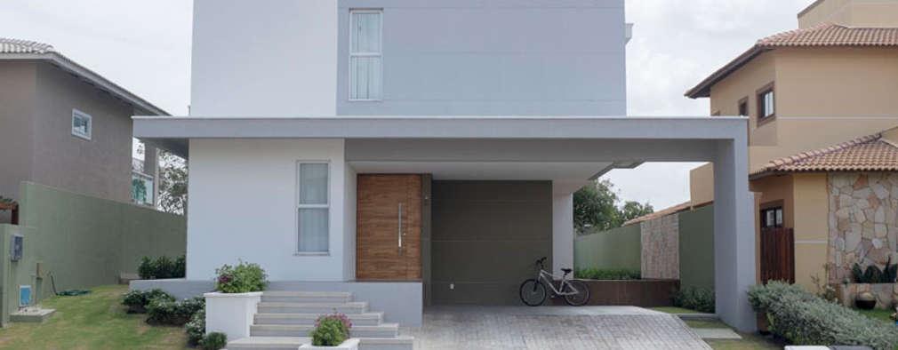 Fachadas Para Sobrados 13 Projetos Modernos