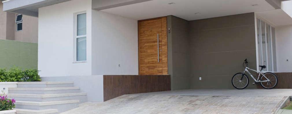 moderne Huizen door POCHE ARQUITETURA