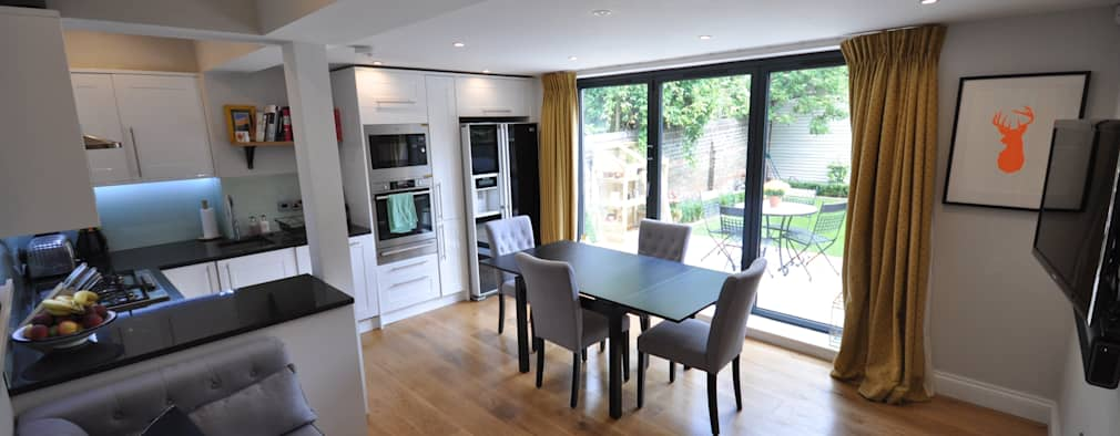 modern Kitchen by The Lady Builder