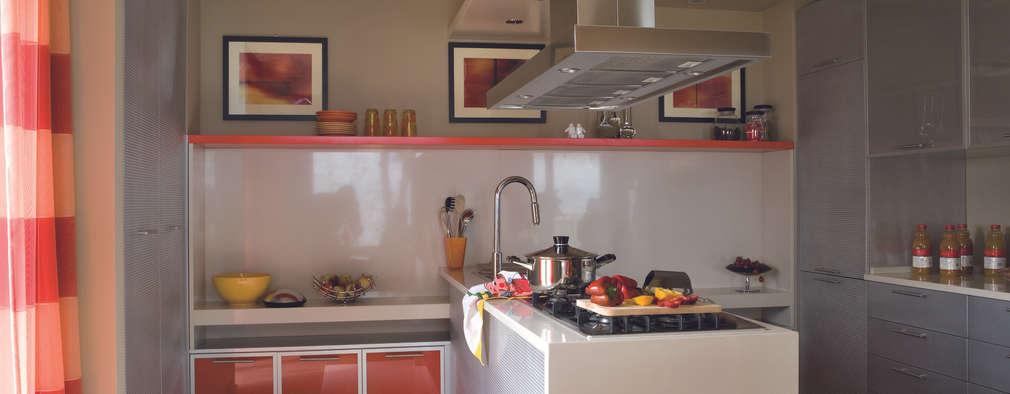 7 cocinas peque as modernas y con pen nsula - Cocinas pequenas con peninsula ...