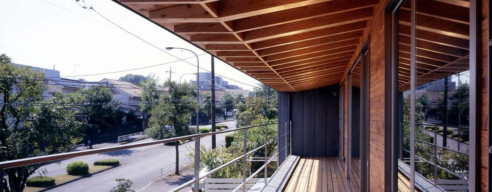 Tерраса в . Автор – HAN環境・建築設計事務所