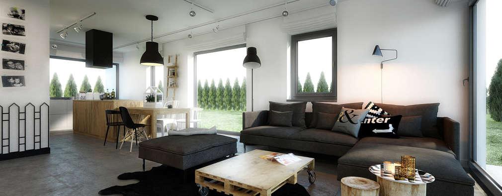 De nieuwste stijlen in woonkamers - 10 vrolijke voorbeelden!