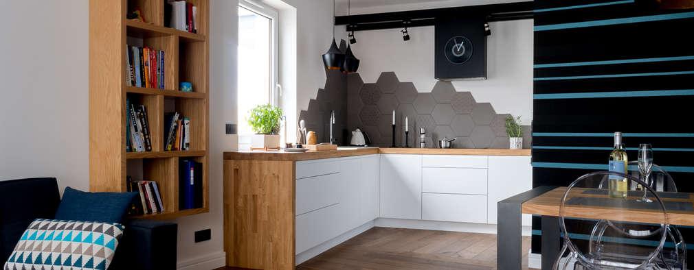 modern Kitchen by Jacek Tryc-wnętrza