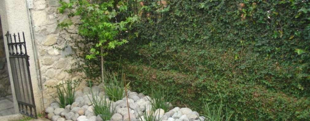 15 jardines sencillos y bonitos que puedes hacer for Modelos de jardines sencillos