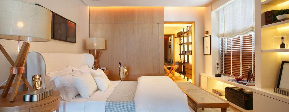 ห้องนอน by BC Arquitetos
