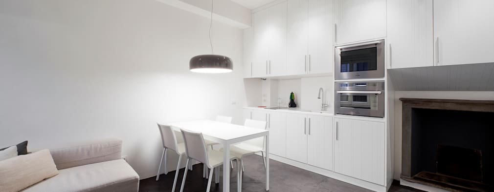 minimalistic Kitchen by 23bassi studio di architettura