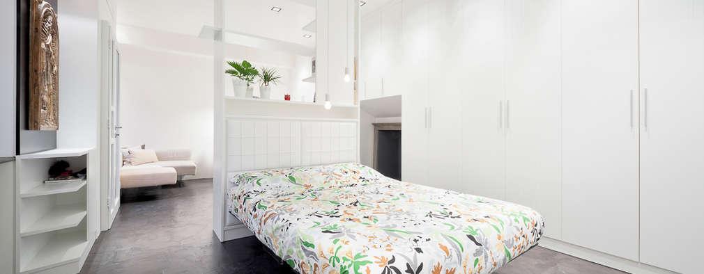 23bassi studio di architettura: minimal tarz tarz Yatak Odası