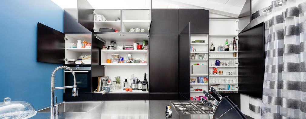 廚房 by 23bassi studio di architettura