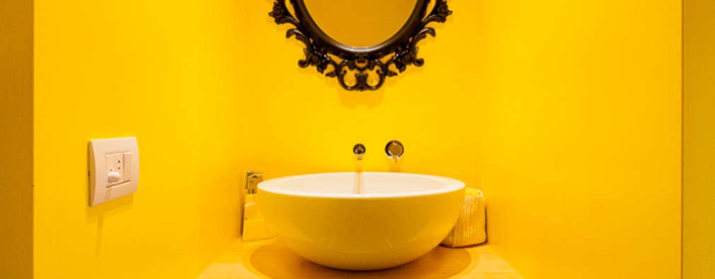 baos de estilo minimalista por bassi studio di with colores para pintar una casa interior