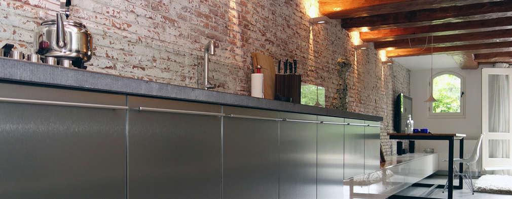 industrial Kitchen by De Ontwerpdivisie