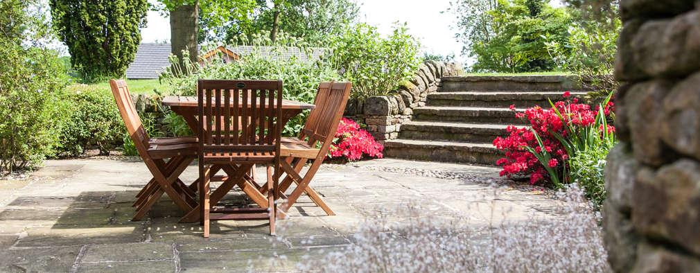 jardines de estilo rstico por barnes walker ltd