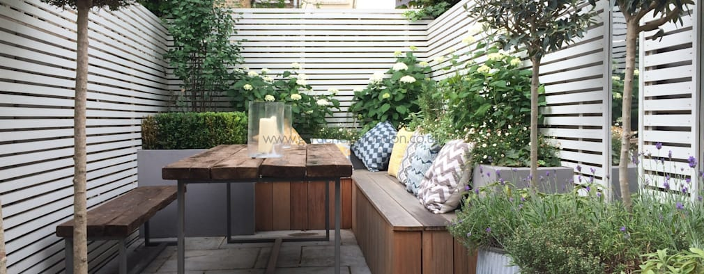 Jardines de estilo moderno por Garden Club London
