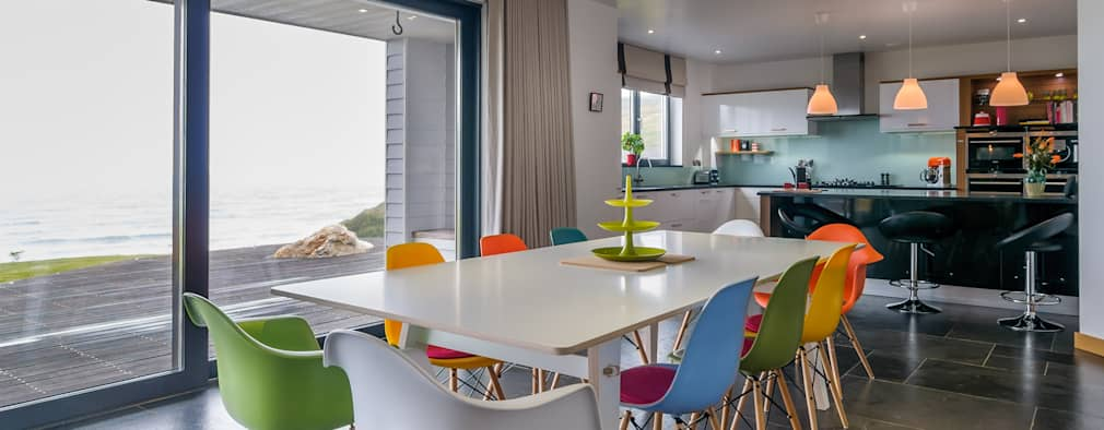 modern Dining room by SOAP designs