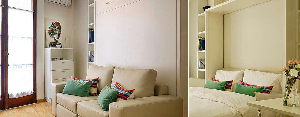 Departamento 18 M2.  :  de estilo  por MINBAI