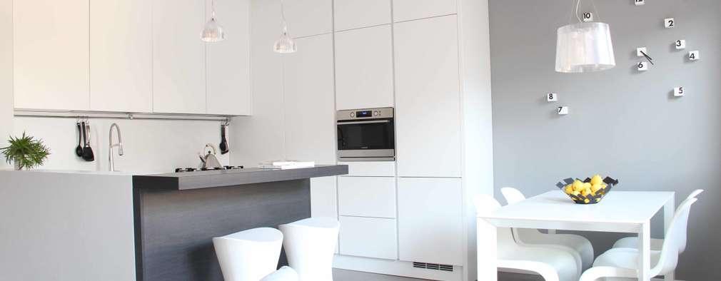 minimalistic Kitchen by Elisa Rizzi architetto