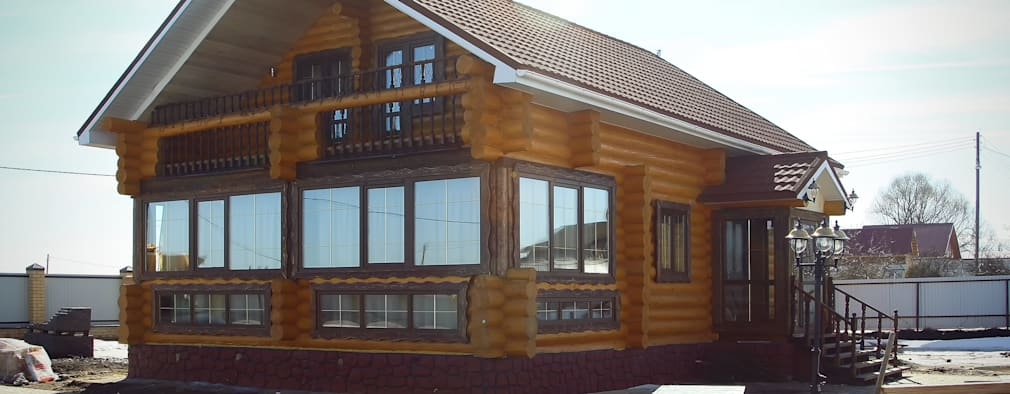 Casas de estilo rural por ULJANOCHKIN DESIGN*STUDIO