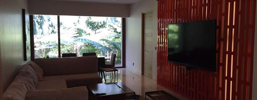 de estilo  por HO arquitectura de interiores