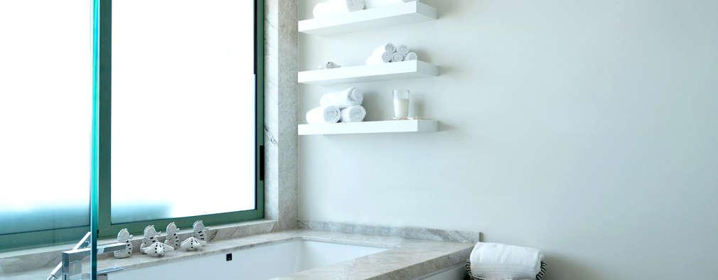 12 idee per decorare il bagno con meno di 50 euro - Decorare il bagno ...