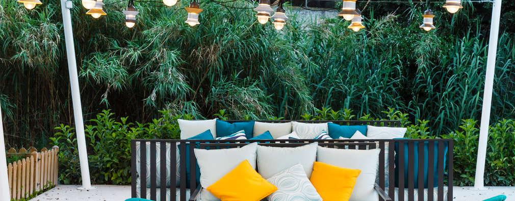 Jardines de estilo topical por DyD Interiorismo - Chelo Alcañíz