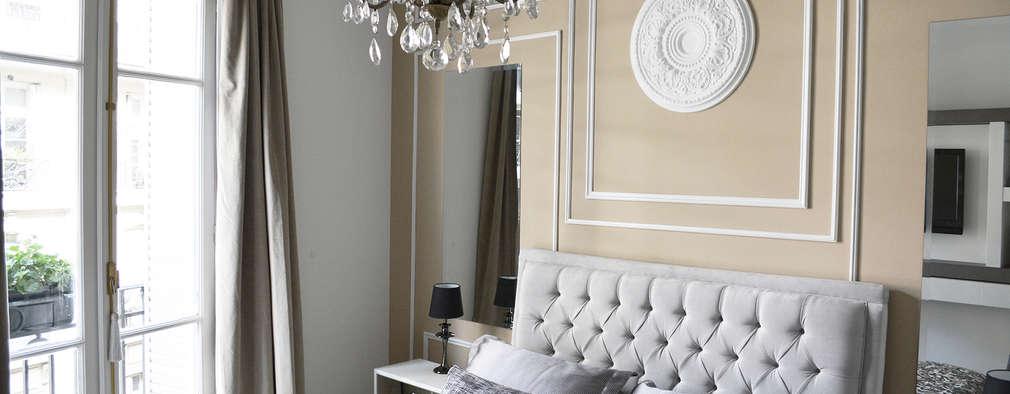 Dormitorios de estilo clásico por Estudio Nicolas Pierry