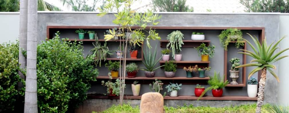 Jardin de style de style Tropical par RABAIOLI I FREITAS