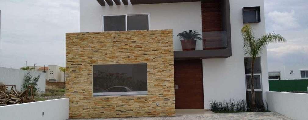 SANTIAGO PARDO ARQUITECTO: modern tarz Evler