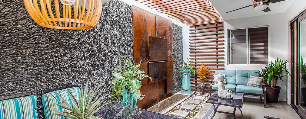 modern Garden by SZTUKA  Laboratorio Creativo de Arquitectura