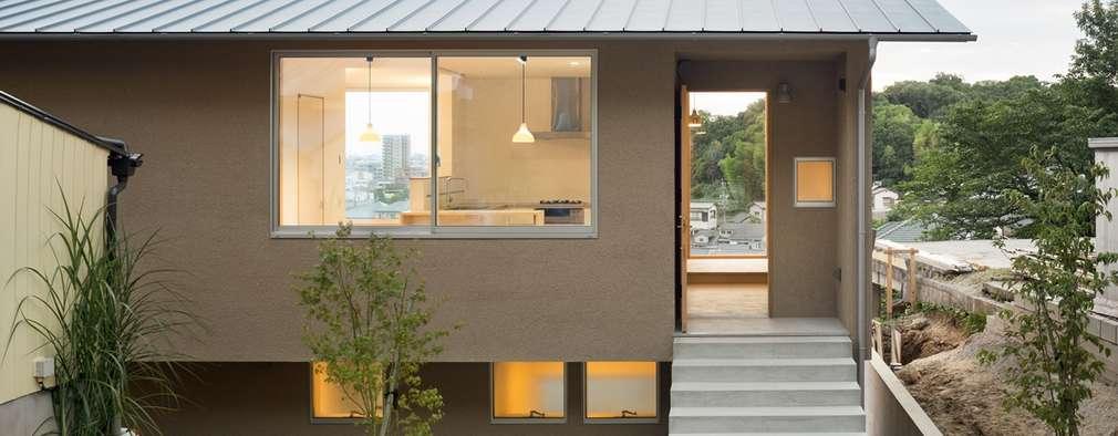 Casas de estilo escandinavo por 市原忍建築設計事務所 / Shinobu Ichihara Architects