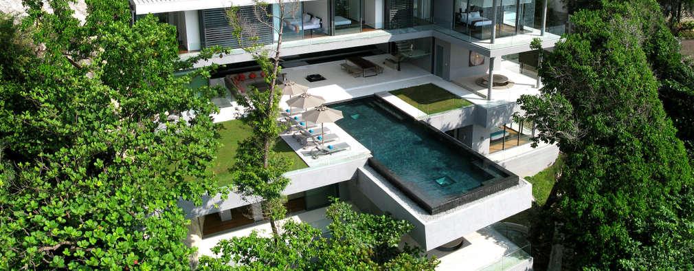Casas de estilo moderno por Original Vision