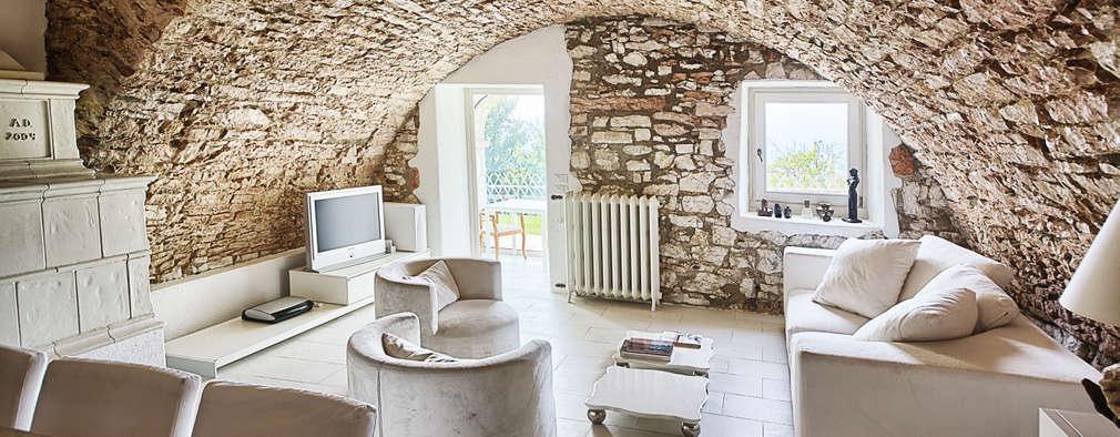 rustic Living room by STUDIO PAOLA FAVRETTO SAGL - INTERIOR DESIGNER