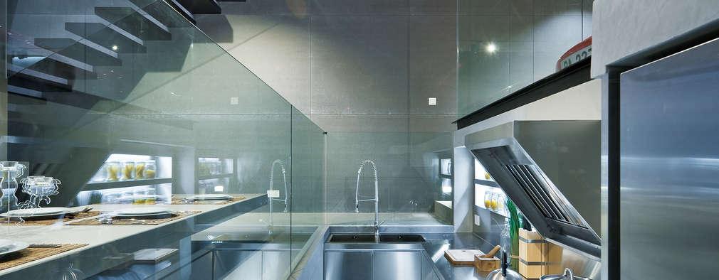 Cozinhas modernas por Millimeter Interior Design Limited