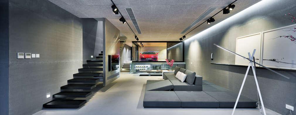 ห้องนั่งเล่น by Millimeter Interior Design Limited
