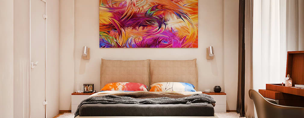 Kamar Tidur by Tatiana Zaitseva Design Studio