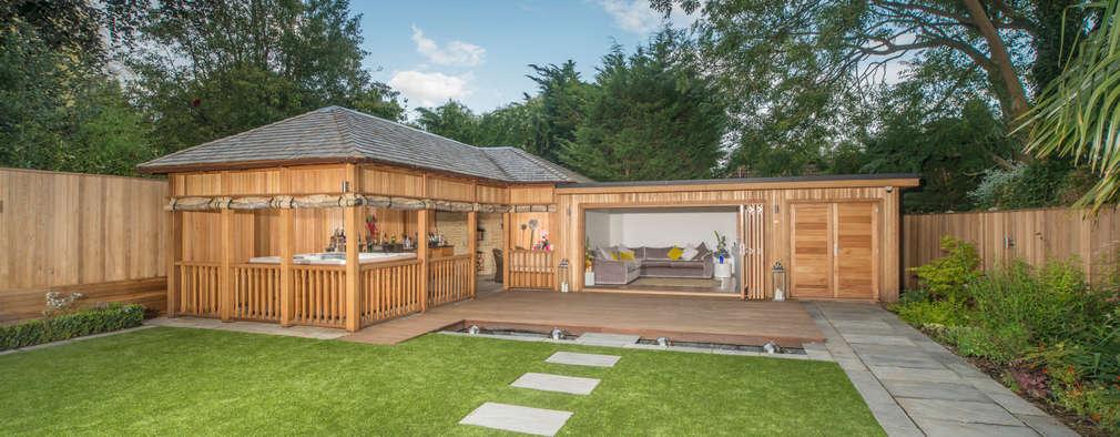 11 maisons de r ve pour votre jardin. Black Bedroom Furniture Sets. Home Design Ideas
