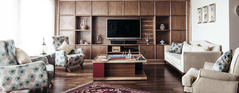 Ruang Keluarga by Bilgece Tasarım
