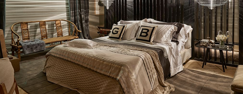 Chambre de style de style Moderne par Gláucia Britto
