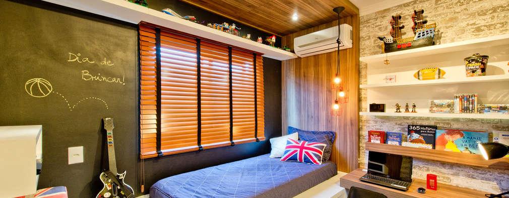 20 habitaciones de estudio modernas y sensacionales for Cuarto tipo estudio