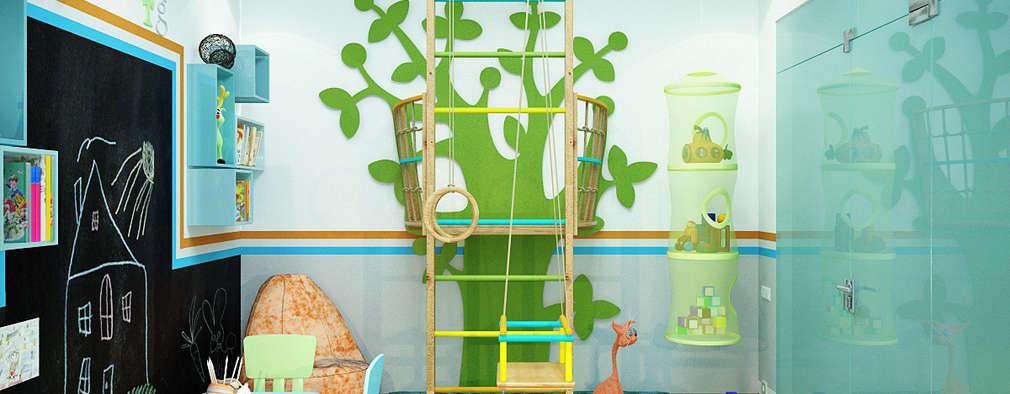 Chambre d'enfant de style de style Moderne par Студия дизайна Interior Design IDEAS