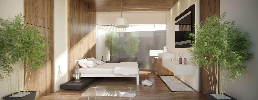 Minimalistische Schlafzimmer Von 21arquitectos