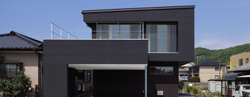 minimalistic Houses by 松岡健治一級建築士事務所