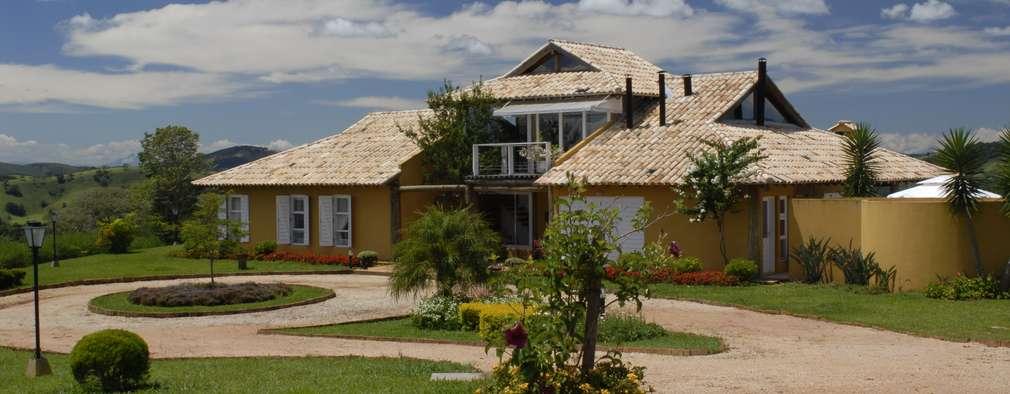 Uma casa de campo rústica e aconchegante para a família